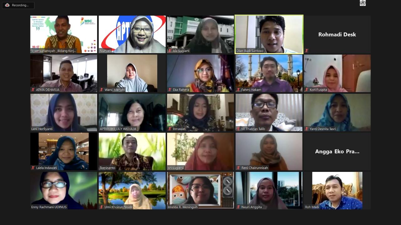 Pengurus APTIRMIKI 2020-24, lakukan Rapat Koordinasi Perdana melalui Daring