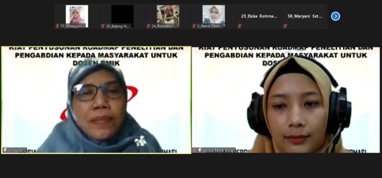 APTIRMIKI Korwil 6 Jawa Tengah, Sukses Mengadakan Pelatihan Roadmap Penelitian dan Pengabdian Kepada Masyarakat Untuk Dosen RMIK